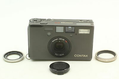 $ CDN2493.86 • Buy [MINT] CONTAX T3 Black Single Teeth Film Camera 30.5 Adapter From JAPAN