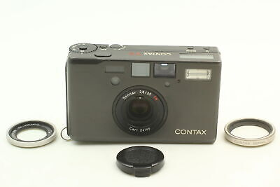 $ CDN2716.60 • Buy [MINT] CONTAX T3 Black Single Teeth Film Camera 30.5 Adapter From JAPAN
