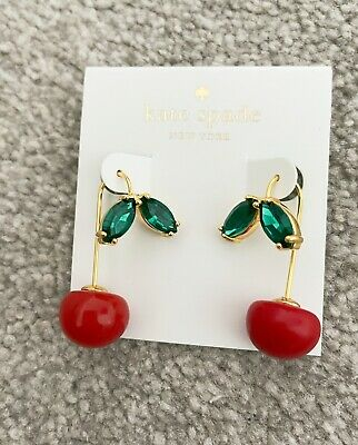 $ CDN59.68 • Buy Kate Spade New York MA Cherie Cherry Threader Earrings BNWT