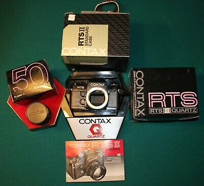 $ CDN450 • Buy Contax RTS II Quartz Camera With Zeiss 1.7/50 Lens