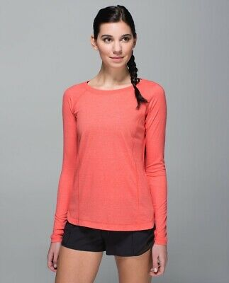 $ CDN49.99 • Buy Lululemon Run: Turn It Up Long Sleeve EUC Sz. 8