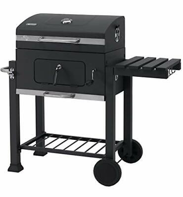 $ CDN198.21 • Buy Grillwagen Toronto Click Charcoal Barbecue/BBQ Grill, Anthracite/Stainless Steel