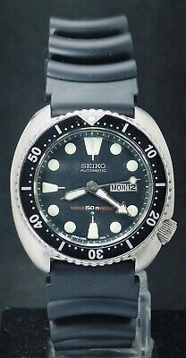 $ CDN47.62 • Buy Automatic Seiko Turtle Diver's Men's 6309-7040 Day/Date Japan Made Watch 1970's