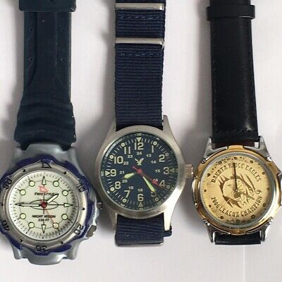 $ CDN42.35 • Buy Vintage Mens Wrist Watch Lot -$45 For All