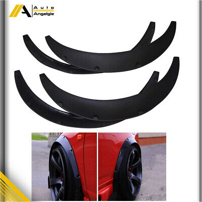$28.36 • Buy 4Pcs Universal 840MM Fender Flares Car Wide Body Wheel Arches Flexible Durable