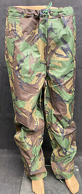 £9.95 • Buy British Military Woodland DPM Waterproof PVC Over Trousers