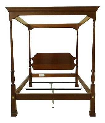 $3195 • Buy 51854EC: STICKLEY Queen Size Mahogany Canopy Poster Bed