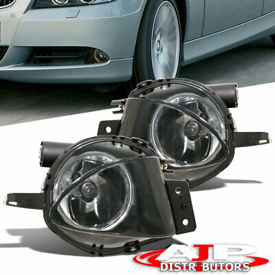 $35.99 • Buy Smoke Replacement Driving Fog Lights Lamps For 2006-2008 BMW 3 Series E90 4dr