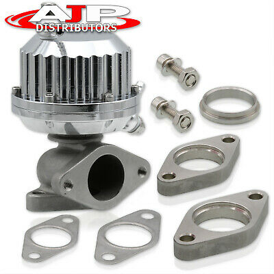 $57.99 • Buy Universal 35mm Vertical Ribbed Style Turbo External Manifold Wastegate 8Psi