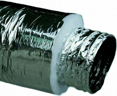 "AU39 • Buy 6"" Inch 150mm Insulated Ducting Heating Duct Insulated Duct Pipe"