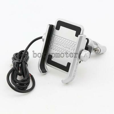 $29.78 • Buy Cell Phone Holder Charger For Suzuki Intruder VS 800 1400 1500 Volusia 800 VL800