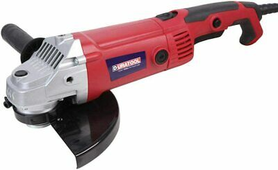 AU96.57 • Buy Angle Grinder 230V 2000W 9  230mm Disc Cutter Large Heavy Duty DURATOOL