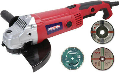 AU96.57 • Buy 230mm 9  Electric Angle Grinder 2000W 230V Disc Cutter With Cutting Disc Kit