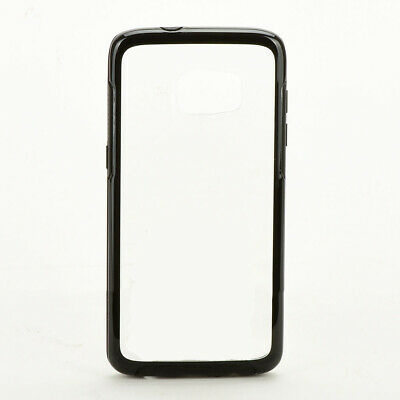 $ CDN8.76 • Buy For Samsung Galaxy S7 Edge Shockproof Hard Snap Case Cover - Black / Clear