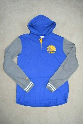 $ CDN8.64 • Buy Golden State Nba Basket Ball Hoodie  Mitchell And Ness Vintage  Size S