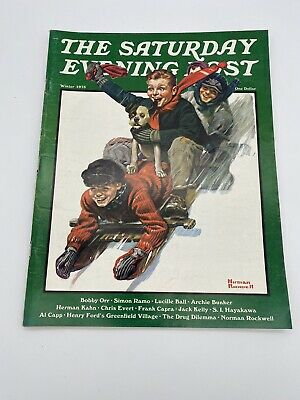 $ CDN1.24 • Buy The Saturday Evening Post Winter 1973 Frank Capra, Norman Rockwell