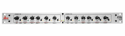 AU206.27 • Buy DBX 234S Stereo 2/3 Way/Mono 4-Way Professional Crossover, Rack Mount, 2 Channel
