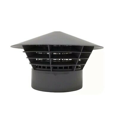 £11.70 • Buy Vent Cowl Cap Grill Cover Soil Stack Cage Rain Hat Vents For 110 Mm Pipe 4 Inch