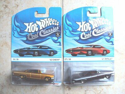$ CDN4.99 • Buy Lot Of 2 Hot Wheels Cool Classics Spectrafrost Chevrolets, Carded