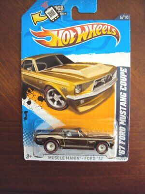 $ CDN13.12 • Buy Hot Wheels 2012 Super Treasure Hunt '67 Ford Mustang Coupe, On Card
