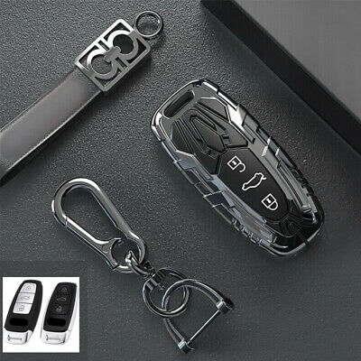 $ CDN24.98 • Buy For New Audi A6 A7 A8 Q7 Q8 Sprot Car Styling Key Fob Cover Case Fob Skin Holder