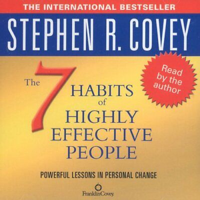 AU9.99 • Buy The 7 Habits Of Highly Effective People (Audio) - Covey, Stephen R. CD 35VG The