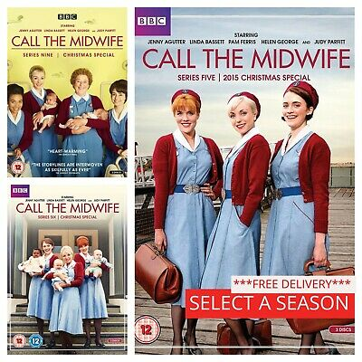 £11.89 • Buy Call The Midwife DVD Series 1 2 3 4 5 6 7 8 9 - Pick A Complete Season Box Set