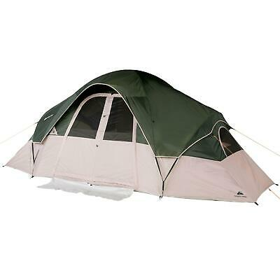 AU136.75 • Buy 8-Person 2-Room Modified Dome Tent 4 Windows And Mesh Ceiling W/ Roll Back Fly