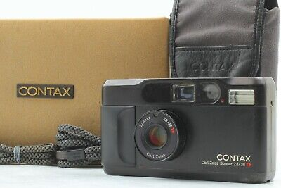 $ CDN2030.91 • Buy [Opt MINT In Box] Contax T2 Limited Black Point Shoot Film Camera From JAPAN 634