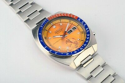 $ CDN1468.14 • Buy  Rare Vintage Seiko 6139-6000 Pogue Day Date Chronograph Automatic Steel Watch