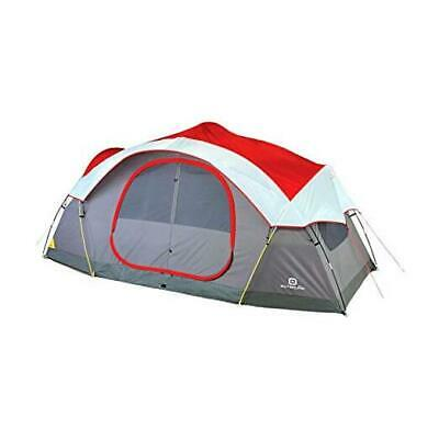 AU297.03 • Buy  8-Person Dome Tent For Camping With Carry Bag And Rainfly | Easy Up & Water