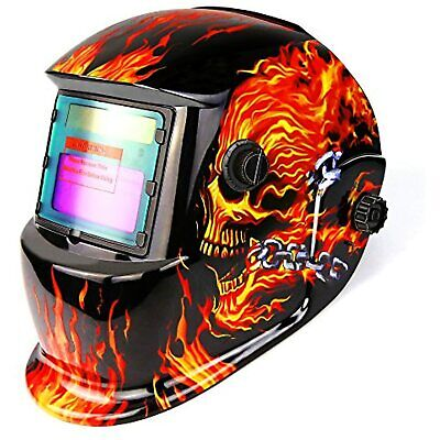 $ CDN36.11 • Buy DEKOPRO Welding Helmet Solar Powered Auto Darkening Hood With Adjustable Shade