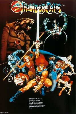 $20 • Buy Thundercats Vintage 80's Poster 24X36 Inches