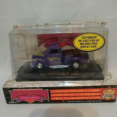 AU16.53 • Buy Road Champions Limited Edition Custom  '53 Chevy 3100 Pickup Truck #835