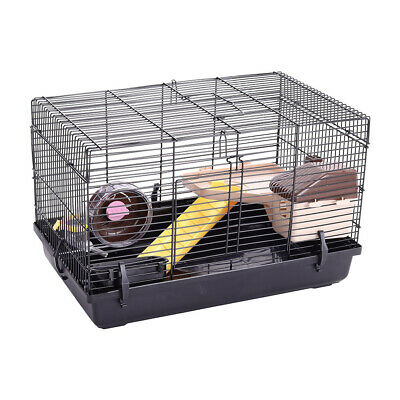 £25.95 • Buy Large Hamster Wire Cage Pet Rodent Animal House With Playground Running Wheel UK