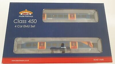 $525.09 • Buy Bachmann 31-041 Class 450 4 Car EMU 450127 South West Trains Weathered 00 Gauge