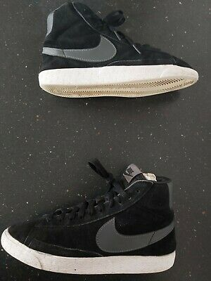 £14.99 • Buy Nike Blazers Womens Black Suede Trainers Size 5.5  EXCELLENT CONDITION