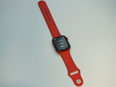 $ CDN187.46 • Buy Apple Watch Series 6 44mm Red Aluminum Case With Red Sport Band  ICL0UD L0CKED