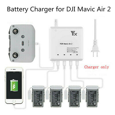 AU56.99 • Buy 6 In 1 Intelligent Fast Charging Hub Multi Battery Charger For DJI Mavic Air 2