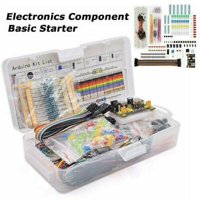 Electronic Component Kit Wire Breadboard LED Buzzer Transistor New Hot P8T3 • 12.96£