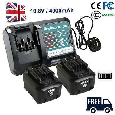 £22.90 • Buy 4.0AH Battery Replace For Makita BL1040 BL1040B BL1015 BL1020B CXT W/Charger New