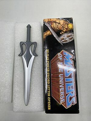 $89.95 • Buy He Man Masters Of The Universe Power Sword Letter Opener SDCC