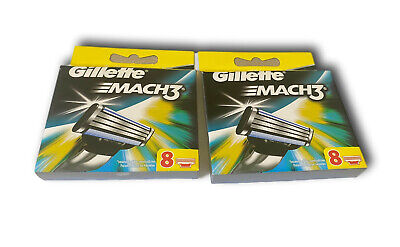 $20.99 • Buy 16 Count Gillette Mach3 Replacement Razor Blades Tested Sharp & Last