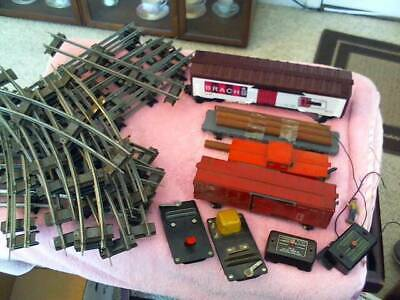 $40 • Buy American Flyer 3/16 Scale Trains O & 027 Gauge , 20 Curved 10 Straight & 4 Cars
