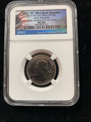 $ CDN120.91 • Buy 2019-W American Memorial Park Quarter Early Release NGC MS-64