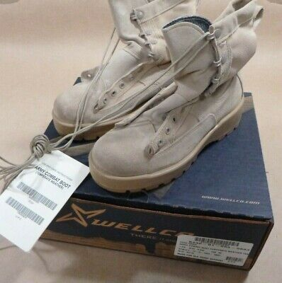 $34.99 • Buy New Military Surplus Wellco Temperate Weather Army Comat Boots Men's 5.5w