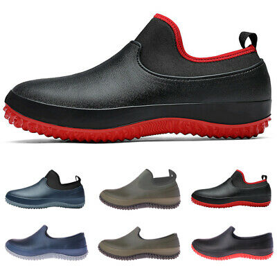 £25.59 • Buy Non-slip Chef Shoes Mens Womens Kitchen Safety Shoes Slip On Work Boots Oilproof