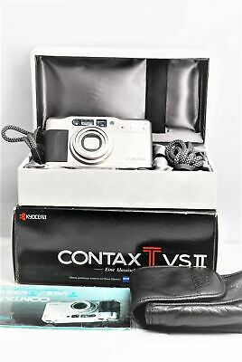 $ CDN845.82 • Buy [Almost MINT In BOX W/ Case] Contax TVS II Point & Shoot Film Camera From JAPAN