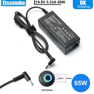 £9.49 • Buy 65W 19.5V AC Laptop Charger Adapter For HP Chromebook 14 11 G3 G4 G5 X360 Series