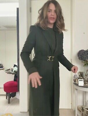 £69.99 • Buy Zara Fw21 Limited Edition Belted Coat With Buckle Size Xl Bloggers Fave  Bnwt